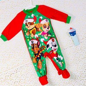 NWT! Paw Patrol Holiday Adorable Pajama Set!